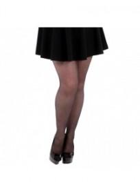 Collant noir grande taille 15 deniers basique Pamela Mann