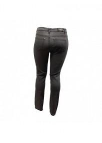 pantalon grande taille - jean slim gris Nana Belle (dos)