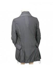 manteau asymétrique L33 grande taille (dos)
