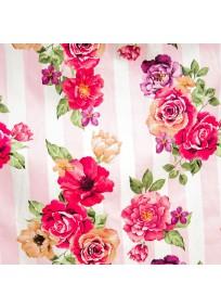 """robe grande taille - robe vintage """"Delta"""" Lindy Bop imprimé """"Bouquet floral"""" (détail motif)"""