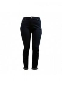 """jeans grande taille - jeans slim à revers """"plume de paon"""" Nana Belle (face)"""