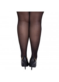 Collant fantaisie grande taille - collants avec strass Lida
